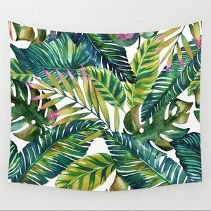 Society6 Tropical Palm Tree Tapestry